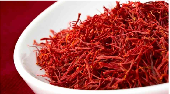 Foods that boost mood saffron