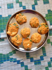 Sweet potato and chickpea cutlet 0