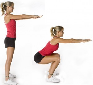 burn 200 cal in 20 mnts squats