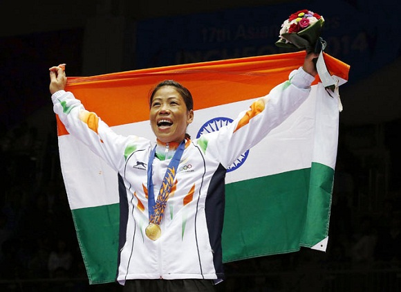Asian games mary kom