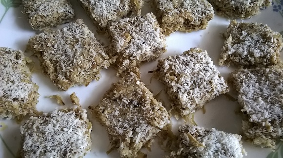 Low carb Doda burfi 1