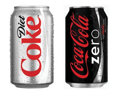 Coke Zero vs diet Coke