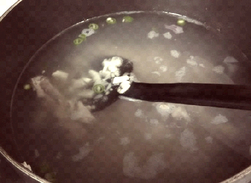 egg chicken low carb soup