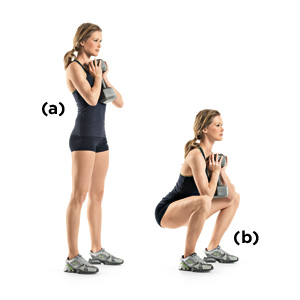 goblet squat exercise for legs