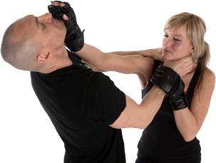krav maga self defence woman