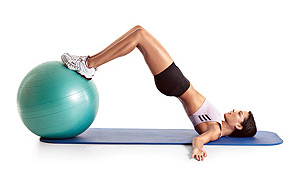 marching hip raise exercise for legs