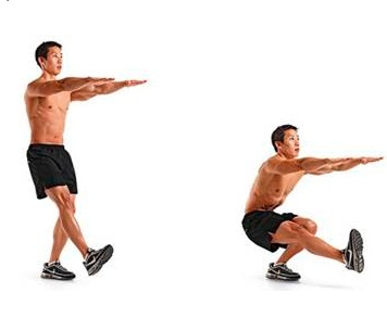 pistol squat exercise for legs
