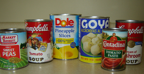 Canned food- avoid during periods