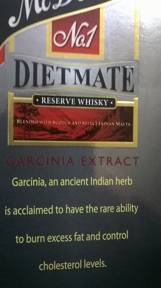 McDowell's No.1 Diet Mate Whiskey Review