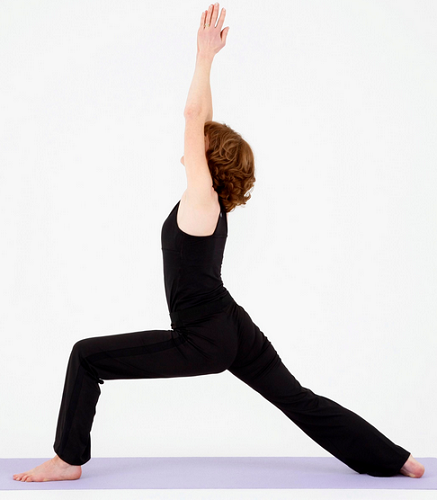Top 5 Yoga Postures To Build Muscles-warrior pose