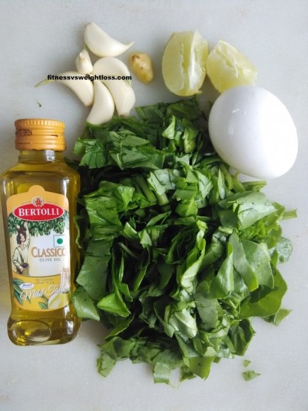 Wilted Spinach With Poached Egg