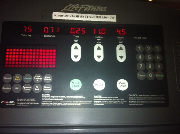 burning calories without running treadmill 1