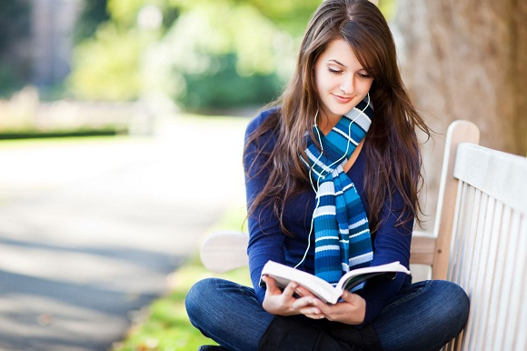 ways to ward off winter laziness- woman reading book
