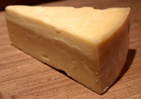 Cheddar cheese -4 famous types of cheeses