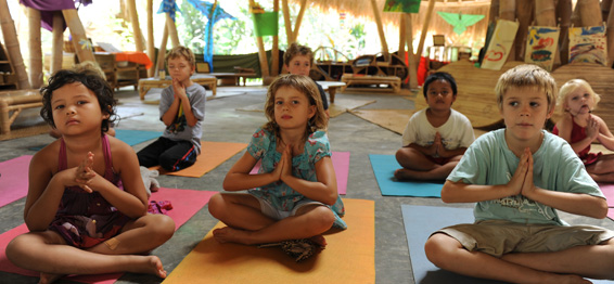 Children doing yoga-How The West Is Improvising On Yoga 3
