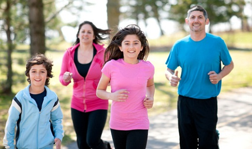 Family -Family fitness how to go about it