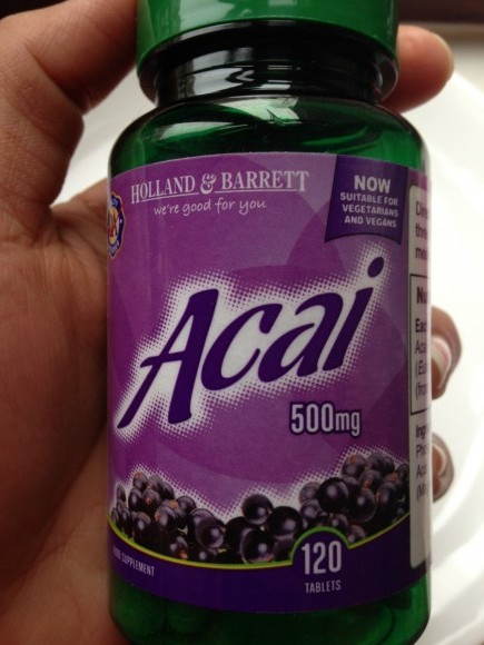 Holland & Barrett Acai Berry Tablets Review - Indian ...