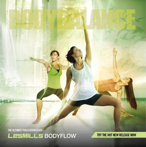 Les Mills Body Balance and Yoga 3