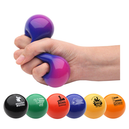 Liquid filled stress balls - Using stress balls to relieve stress