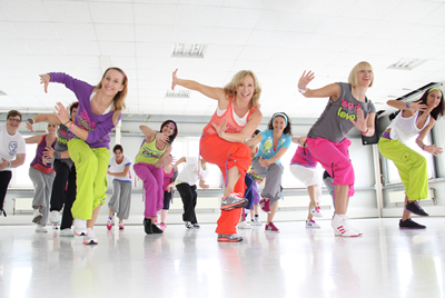 zumba- 4 aerobic dances for fitness