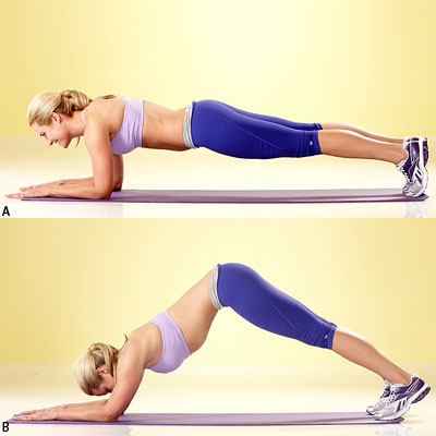 Dolphin Plank Fitness for women 6 best workouts
