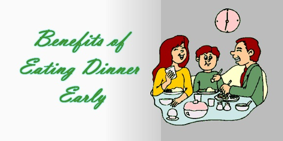 How beneficial it is to have an early dinner 1