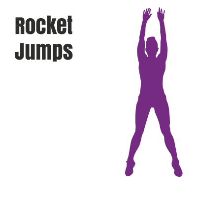 Rocket jump- best exercise to lose weight