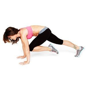 crossing climber some simple exercises to lose belly fat