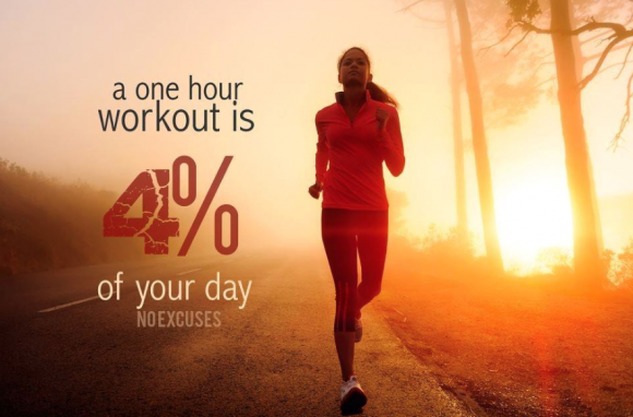 one hour exercise