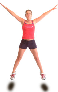 star_jump_up best exercise to lose weight