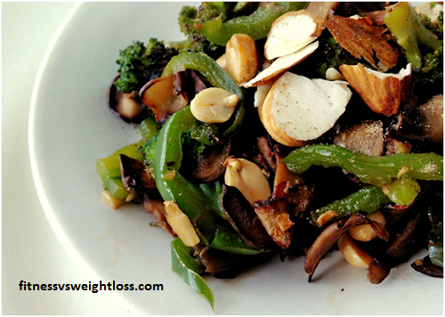 Broccoli And Mushroom Stir-Fry No 6