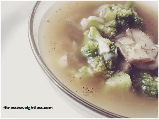 Super Easy Broccoli and Mushroom Soup 7