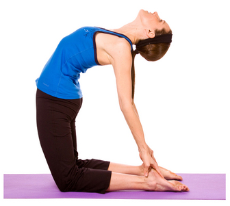 camel's pose Yoga For Weight Loss- Some Amazing Yoga Poses