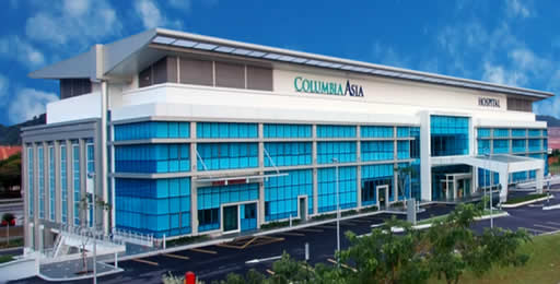 columbia Asia- top 4 multispeciality hospitals in Bangalore