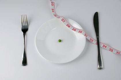 pea and tape measure diet