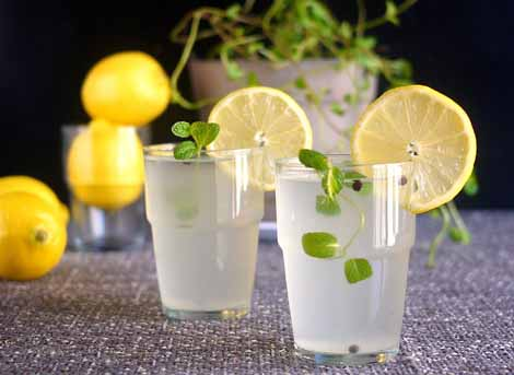 lemon juice top 6 refreshing Indian summer drinks