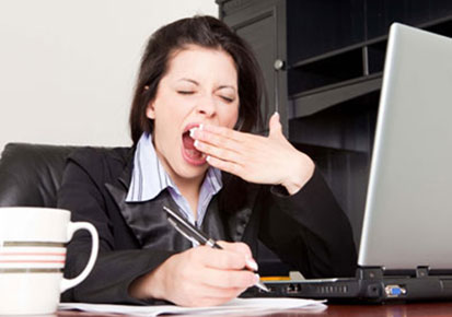 sleepy at work - Best Ways To Stay Awake During The Day