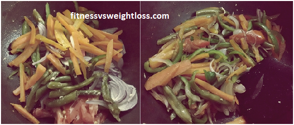 Sweet and Sour Chicken Stir Fry With Veggies 3