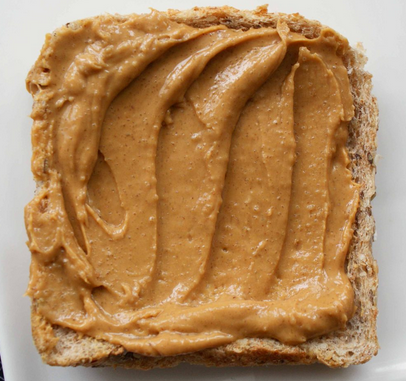almond butter on bread