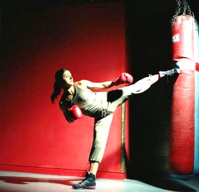 benefits of heavy bag workout