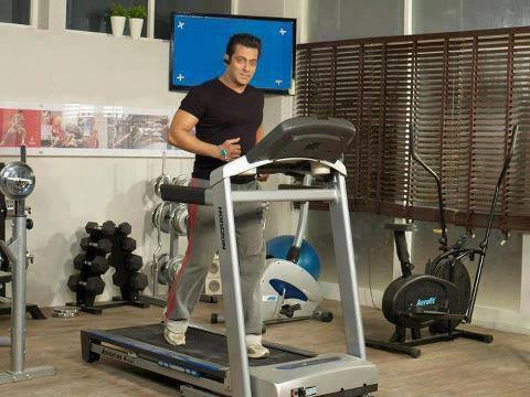 salman khan working out