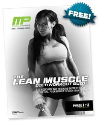women lean muscle diet