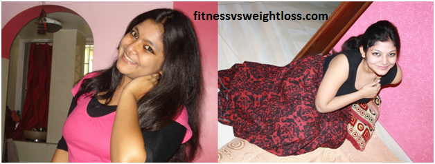 Srijita's amazing weight loss story 1
