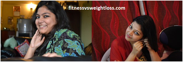 Srijita's amazing weight loss story 2