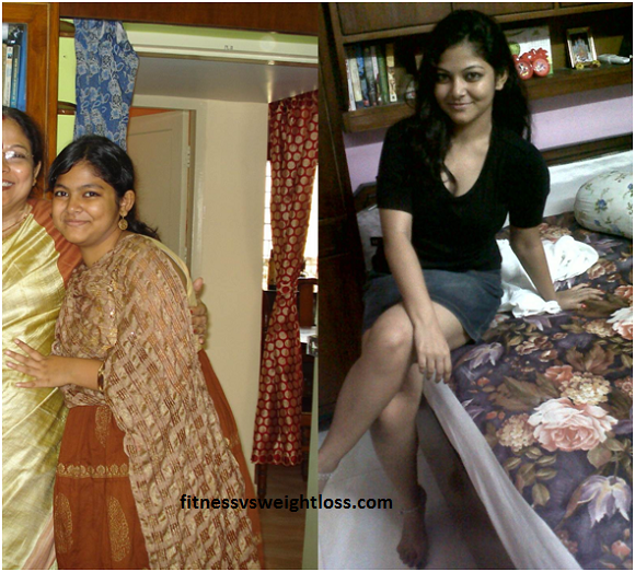 Srijita's amazing weight loss story 3