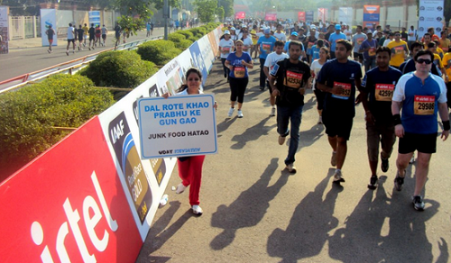 Airtel Delhi marathon- 5 Popular Marathons In India