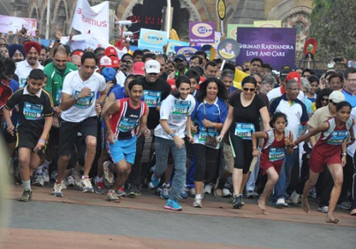 Mumbai marathon- 5 Popular Marathons In India