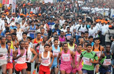 Pune International marathon- 5 Popular Marathons In India