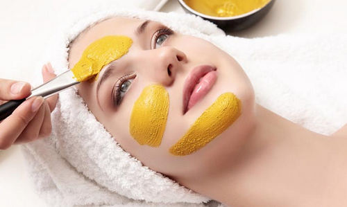 Turmeric and besan face pack for sun tan