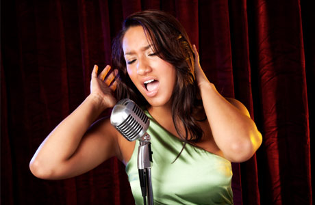 Woman-Singing benefits of singing